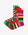 Happy Socks Classic Holiday Nogavice 4 parov