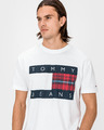 Tommy Jeans Plaid Centre Flag Majica
