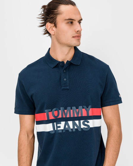Tommy Jeans Block Stripe Polo majica