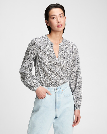 GAP Shirred Popover Bluza