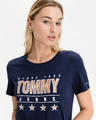 Tommy Jeans Slim Metallic Majica