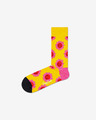 Happy Socks Smile Flower Nogavice